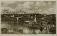 Uganda Mail crossing the Nile Bridge
