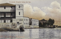 St. Joseph Hospital facing the Sea