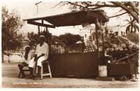 Zanzibar, a fruit stall