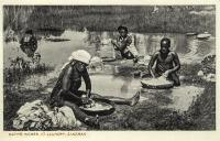 Native Women at laundry