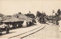 Nil (Train through a village)