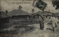 Une rue de Zanzibar