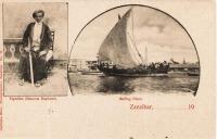 Tiputibu (famous explorer) + Sailing dhow