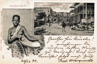 Zanzibar native + Zanzibar Sultan's Palace