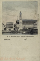 H.H. Sultan s Palace before bombardment
