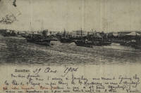 nil (the port with anchored dhows)
