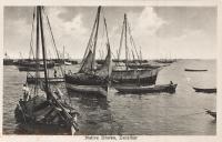 Native Dhows, Zanzibar