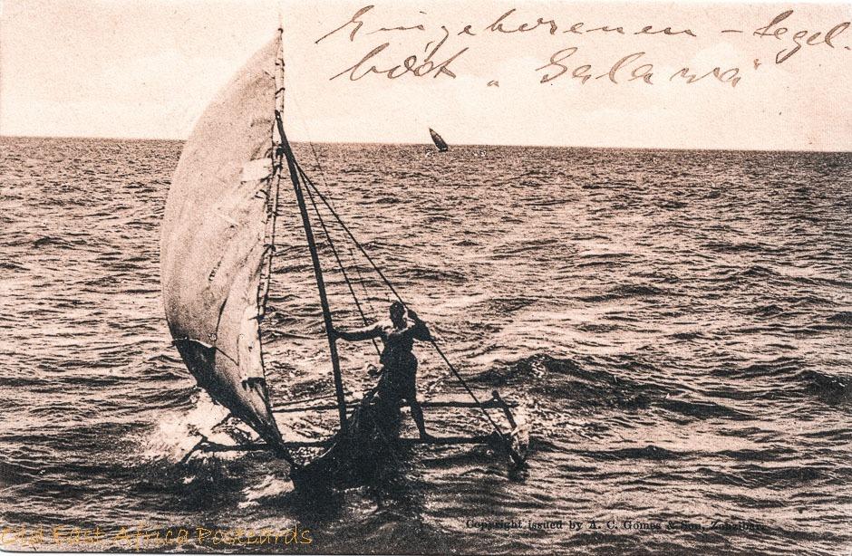 nil (fisherman on his dug-out)