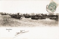 nil (Dhows anchored in the harbour)
