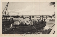 Shipping Cloves Bales, Zanzibar
