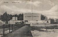 Zanzibar. Kerosene oil tank