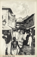 Zanzibar, Bazaar Street