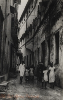 A Narrow Street, Zanzibar