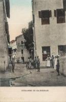 Strasse in Zanzibar