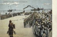 H. H. Guard of honour at the Landing Pier