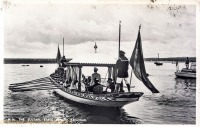 H.H. The Sultan, the State Barge, Zanzibar